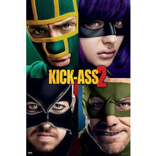Kick-Ass 2 Poster Teaser
