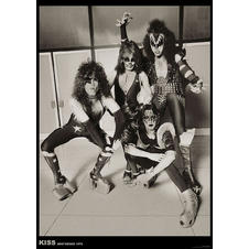 Kiss Poster Amsterdam 1976