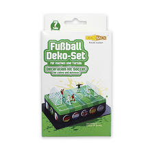 """Football"" cake decorating set"