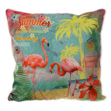 Decorative Pillow - Flamingo Paradise