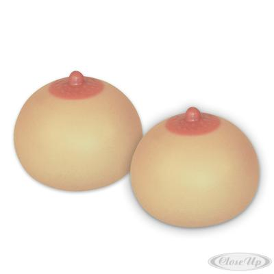 Knetball Brust 2-er Set Antistress-Squeezie Boobs