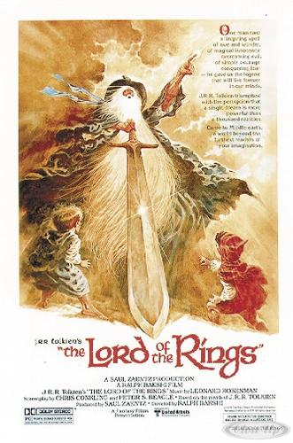 Herr der Ringe (1978 Movie)  Poster