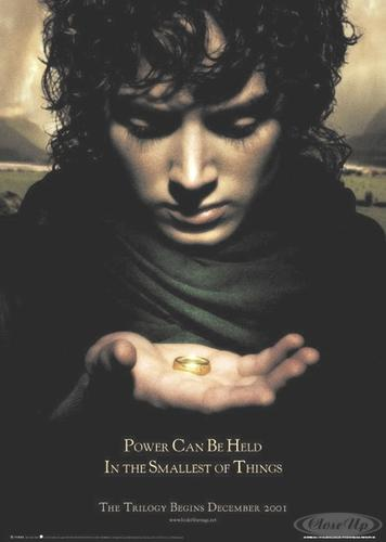 Herr der Ringe Poster Frodo Power Can Be Held...