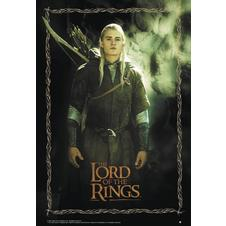 Lord of Rings Poster Legolas