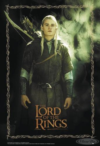 Herr der Ringe Poster Legolas