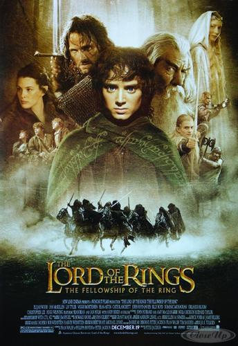 Herr der Ringe Poster Die Gef&auml;hrten