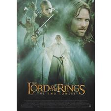 Lord of Rings Poster The Two Towers