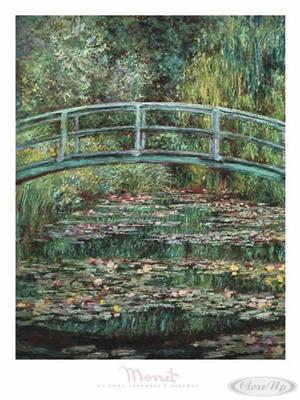 Le Pont Japonais A Giverny Claude Monet Kunstdruck