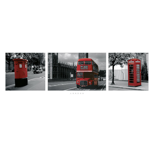 london poster red langbahnposter jetzt im shop bestellen close up gmbh. Black Bedroom Furniture Sets. Home Design Ideas