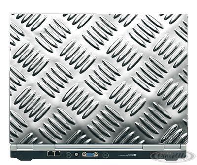 Laptop Sticker Metal 15,4 Zoll