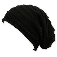 Long Beanie Cap Erik Black
