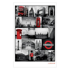 London Sights Poster