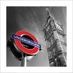 London art print Big Ben