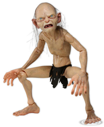Lord of the Rings Actionfigur Gollum 12