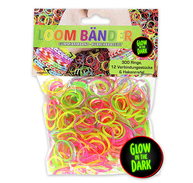 Loom Bands Set Glow in the