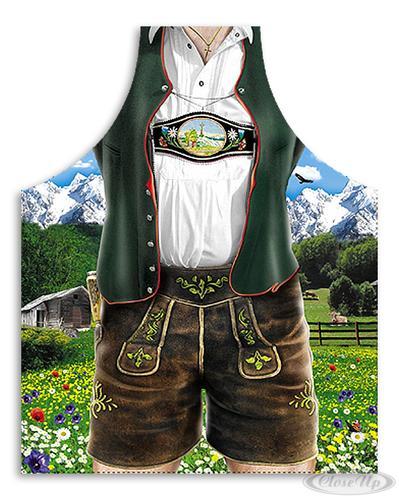 Lederhose Kochschürze Bayerische Tracht - Sonstige Textilien