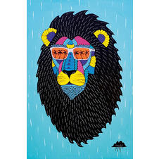 Leroy The Lion Poster