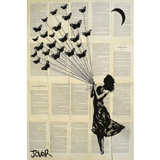 Loui Jover Poster Butterflying
