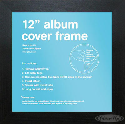 LP Album Cover Rahmen (31,5x31,5cm)