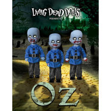 Living Dead Dolls 3 figures set -