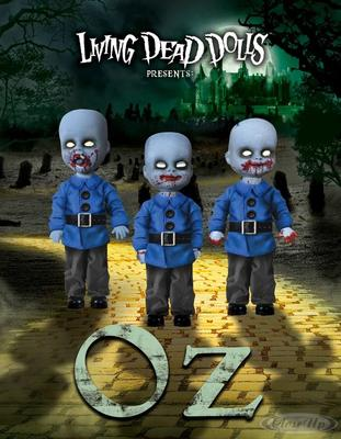 Living Dead Dolls Oz Mini Munchkins 3er Puppenset