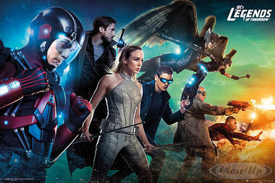 Legends of Tomorrow Poster Team