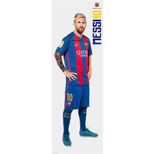 Lionel Messi Langbahnposter