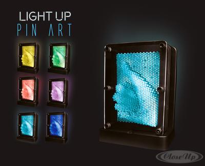 Light Up Pin Art Pinpressions