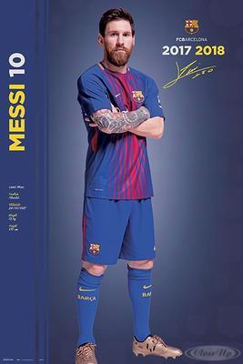 Lionel Messi Poster FC Barcelona