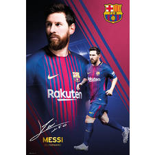 Lionel Messi Poster Collage