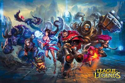 League of Legends Poster Charge!