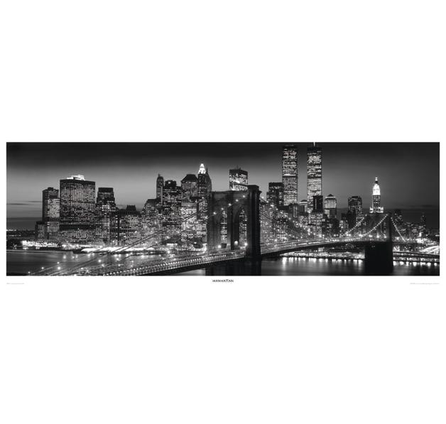 Manhattan Skyline I Poster