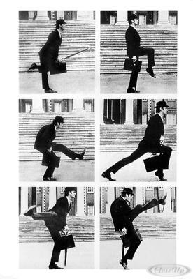 Monty Python Silly Walks Poster
