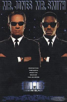 Men in Black Postkarte