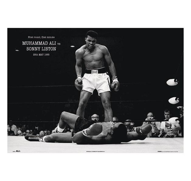 muhammad ali xxl poster xxl poster jetzt im shop bestellen close up gmbh. Black Bedroom Furniture Sets. Home Design Ideas