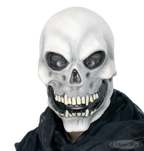 Die Maske der Person mit den Schnecken achatinami