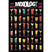 Mixology Poster One Cocktail... Two Cocktails