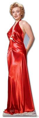 Marilyn Monroe Stand Up Red Dress