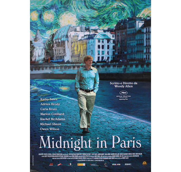 midnight in paris poster posters buy now in the shop close up gmbh. Black Bedroom Furniture Sets. Home Design Ideas