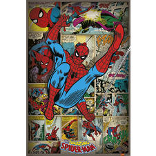 Marvel Poster Spider-Man Retro