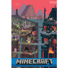 Minecraft Poster World
