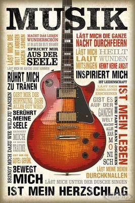 Musik ist Leidenschaft Poster