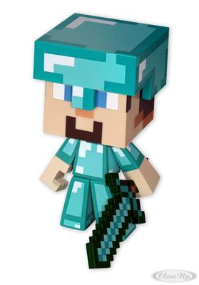 Minecraft Figur Diamond Steve mit Diamantenschwert