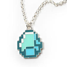 Minecraft Necklace Diamant