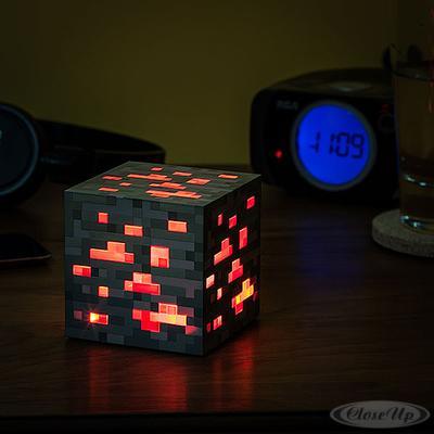 Minecraft Nachtlicht-Würfel 1-2-3 (Redstone Ore Erz) | Lampen > Kinderzimmerlampen