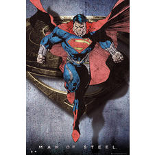 Man of Steel Poster Superman