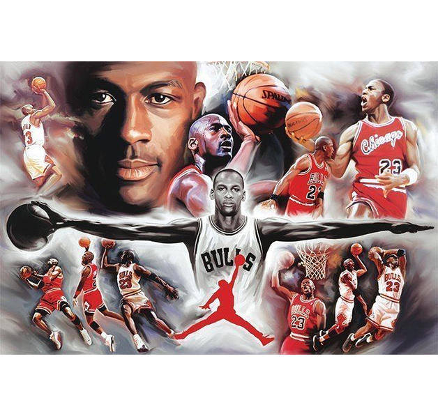 michael jordan poster riesenformat bei close up kaufen. Black Bedroom Furniture Sets. Home Design Ideas