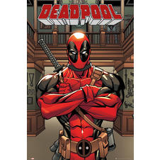 Marvel Comics Poster Deadpool
