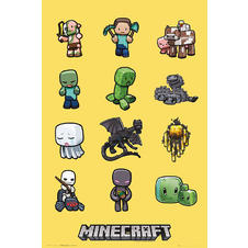 Minecraft Poster Characters