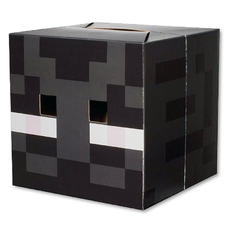 Minecraft Maske Enderman Kopf